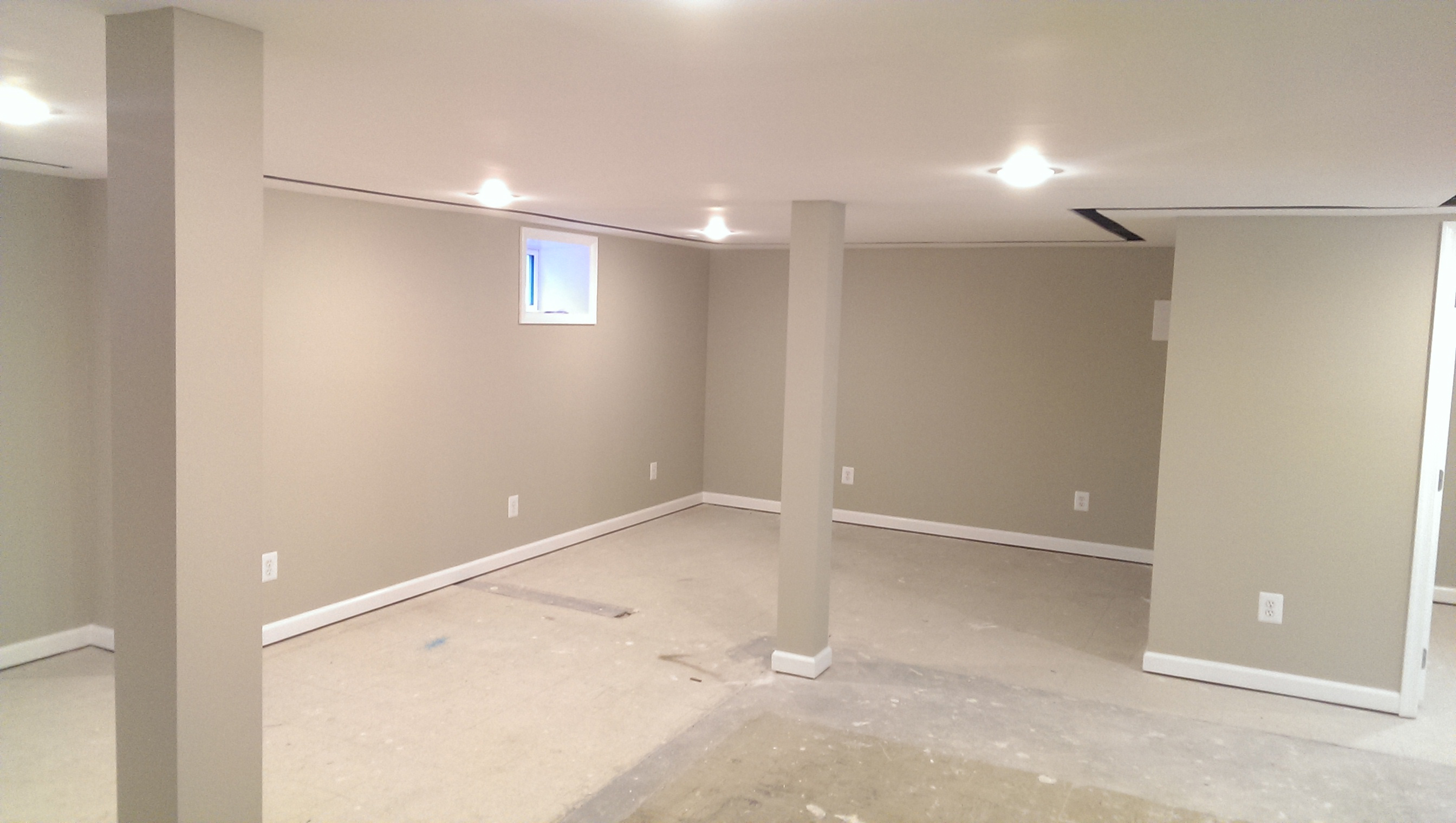 Basement Remodel Job in Centreville, VA