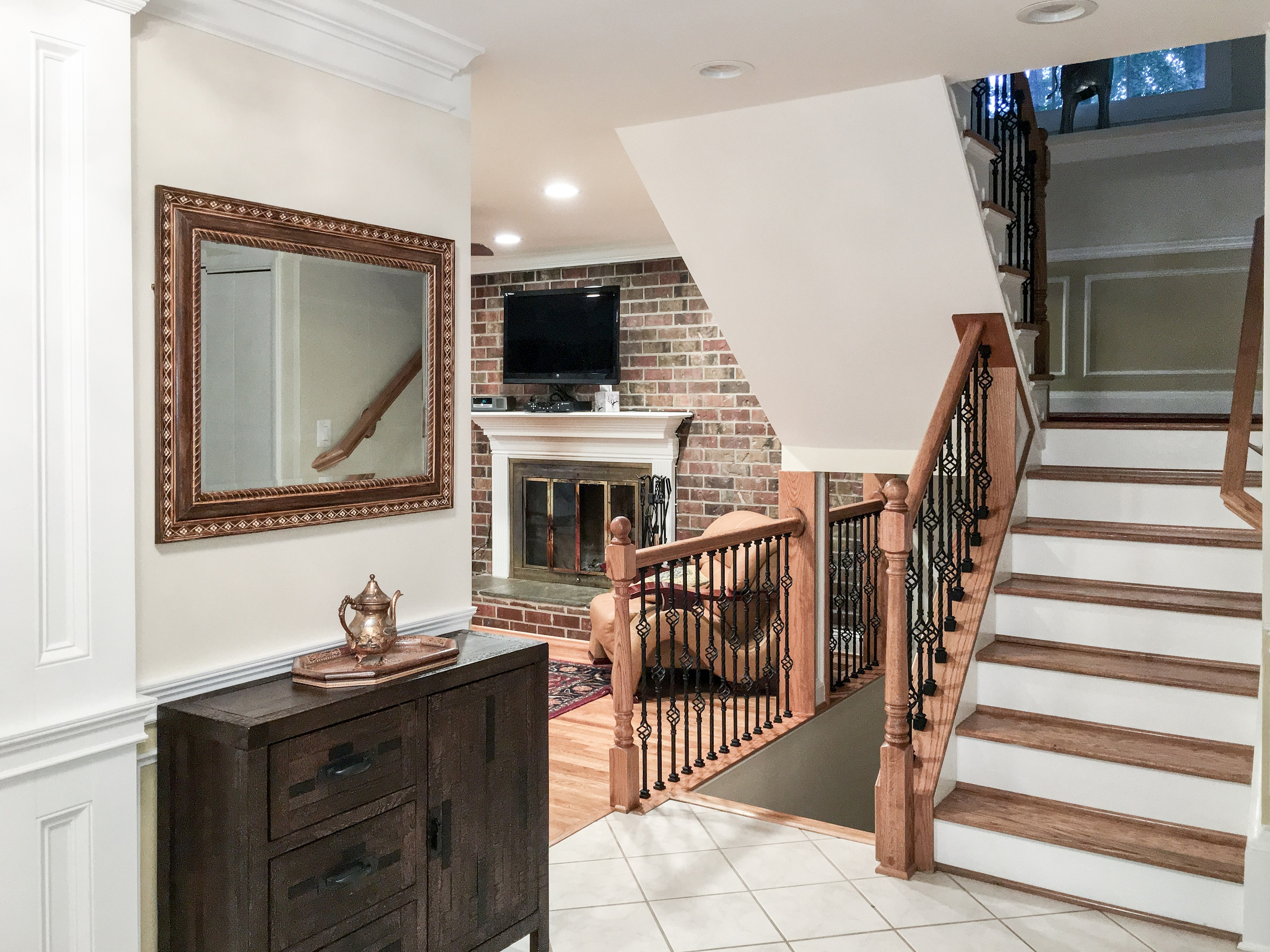 Basement Remodel In Fairfax Virginia