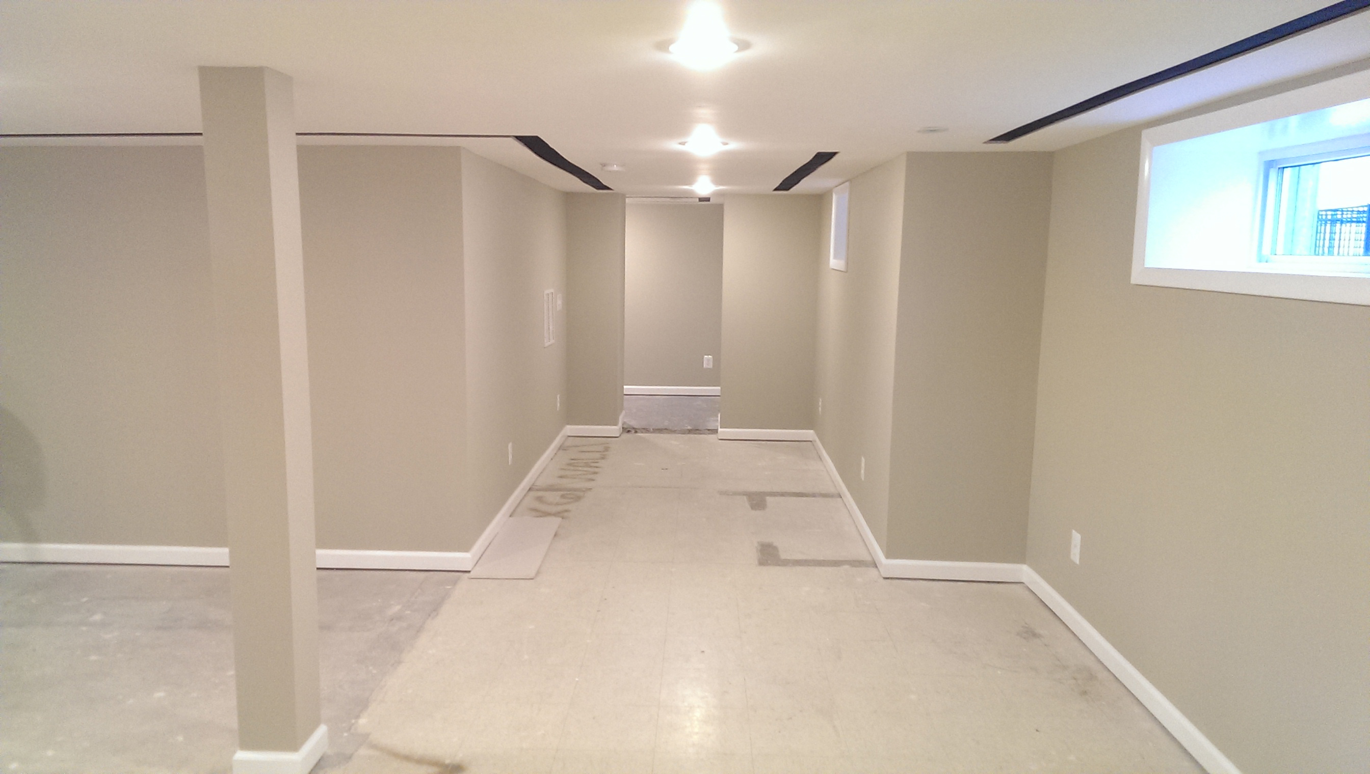 Basement Remodel in Herndon Virginia